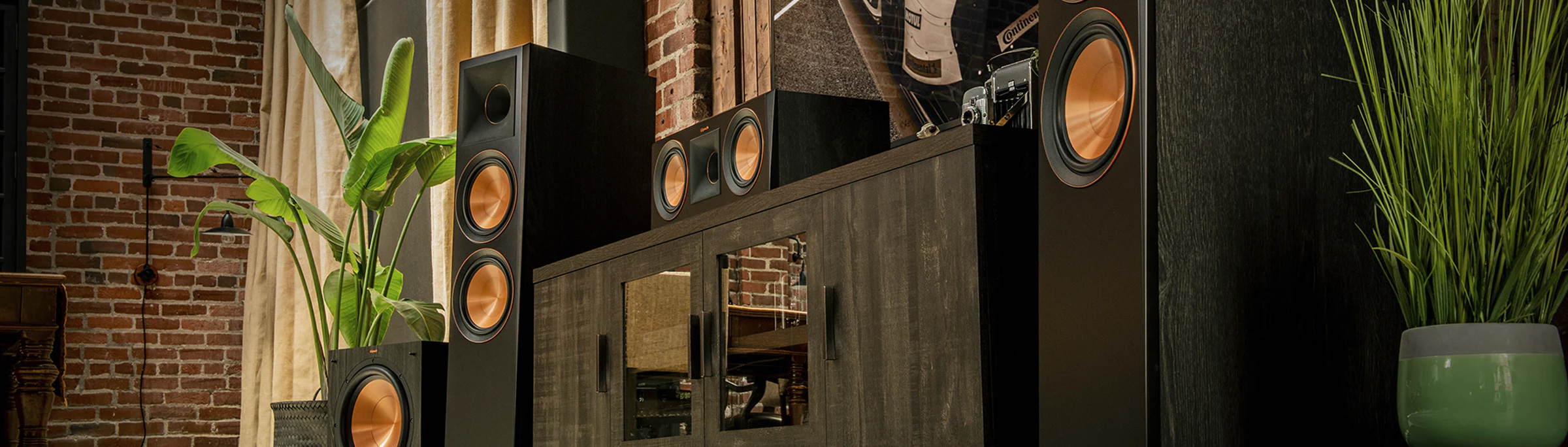 Speakers + Components
