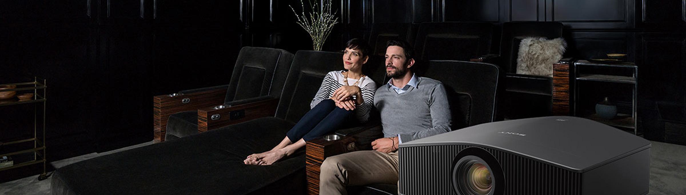 Projectors, Screens + TVs